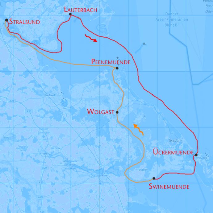 Insel Usedom Törn Ostsee
