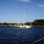 Hafen Gedser Ostsee