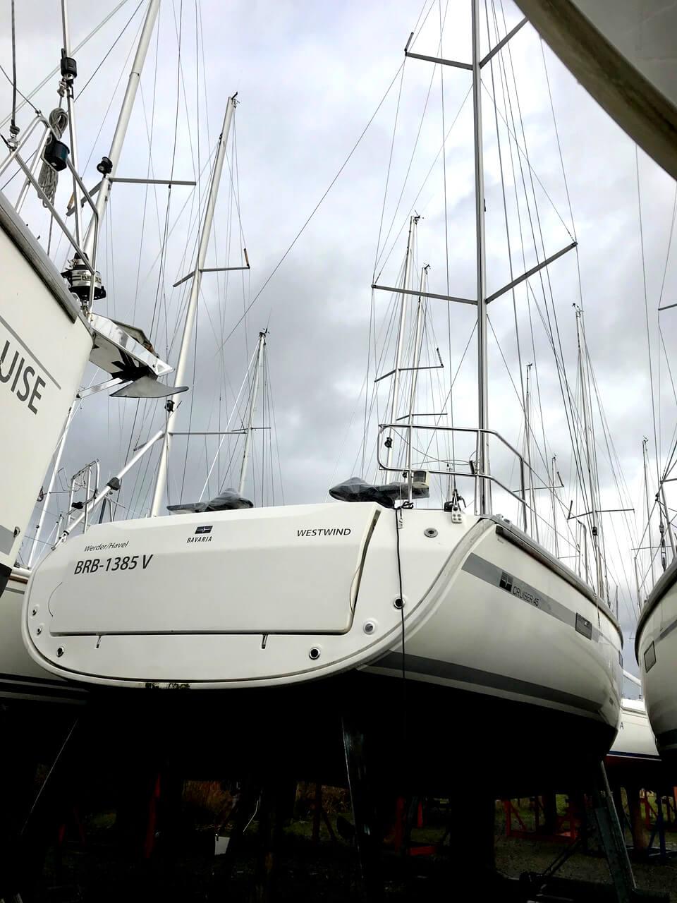 Segelyacht Bavaria 45