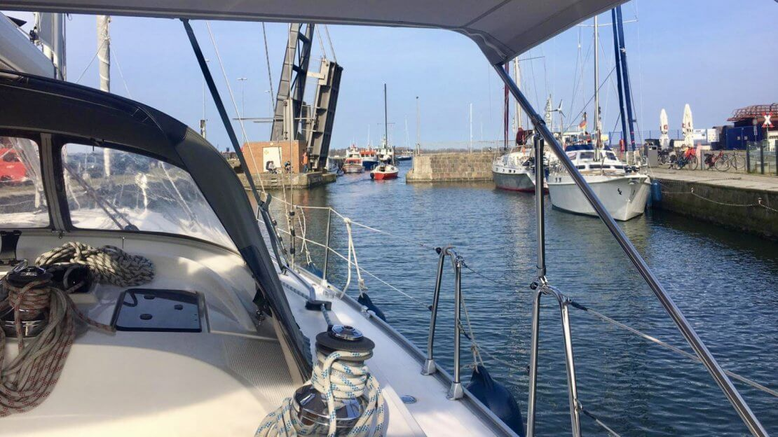 Stralsund, Querkanal, City Marina