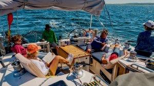 entspanntes segeln Ostseeküste Segelzeit