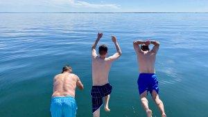 baden in der Ostsee Segelzeit